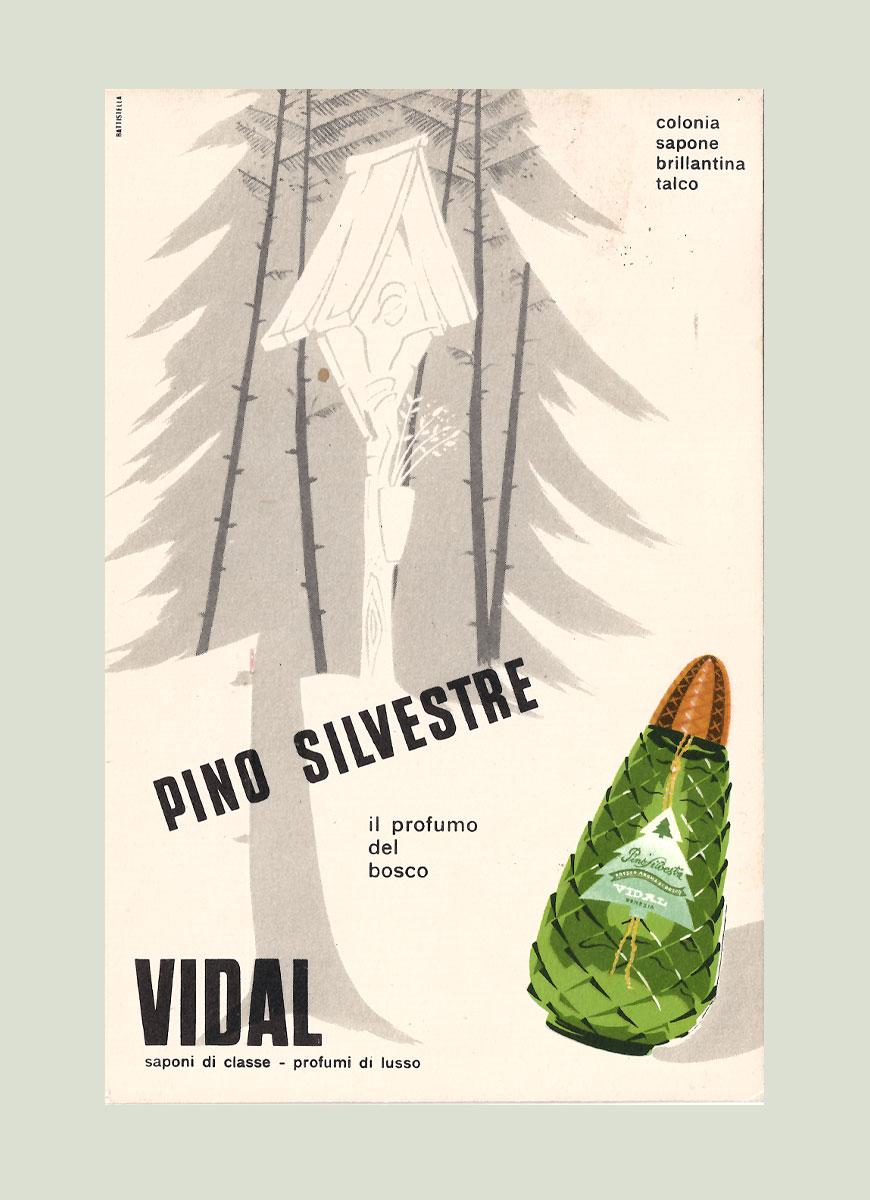 Venice Olfactory pubblicita Vidal saponi PINO SILVESTRE